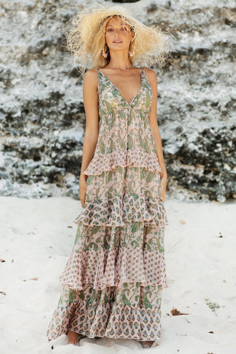Miss June Jenny Dress - Miss Just Australian Stockist - Jenny Dress P105 - Miss June Paris Jenny Maxi Dress