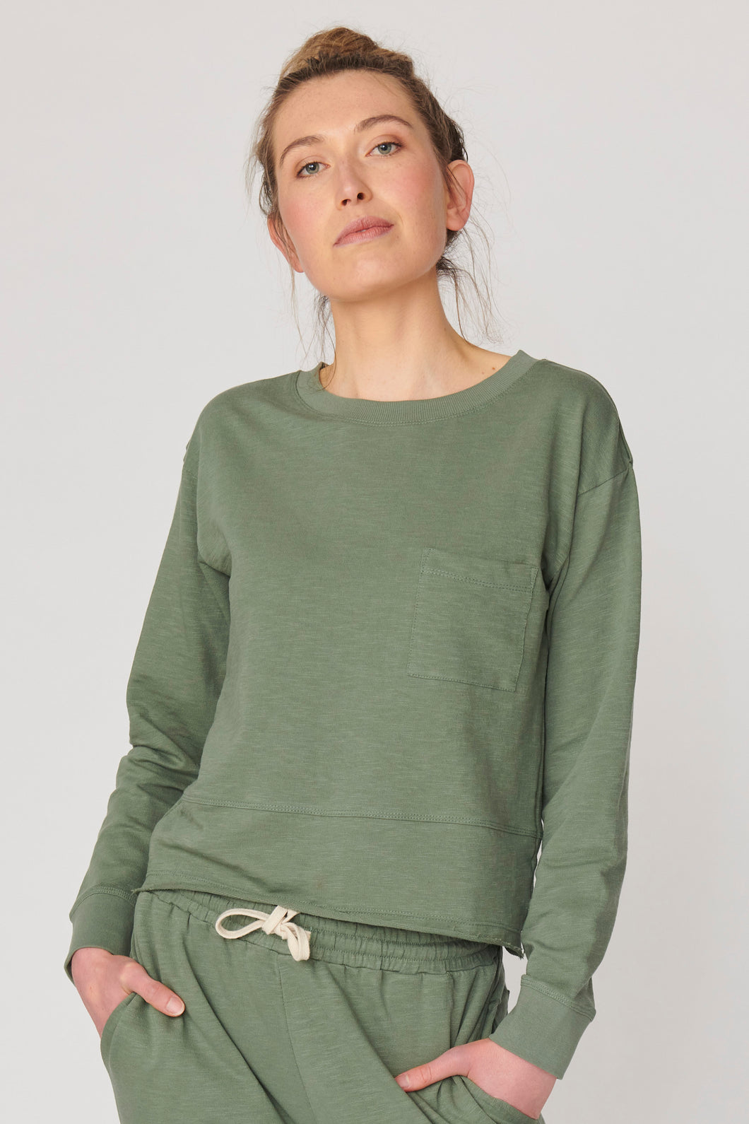 New Jersey Jumper New Jersey Sweater LULU ORGANIC COTTON SWEATER BASIC STATE AUSTRALIA