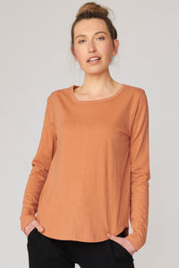 Lulu Organic Clothing New York Long Sleeve Tee - Basic State Australia
