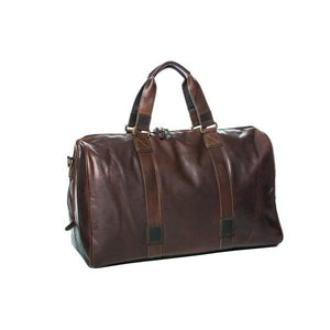 Leather overnight bag leather rugged hide basic state