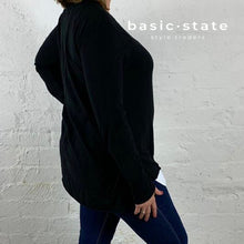 Plus Size Clothing Plus Size 3RD STORY THIRD STORY STRUMPET LONG SLEEVE TSHIRT TEE black basic state