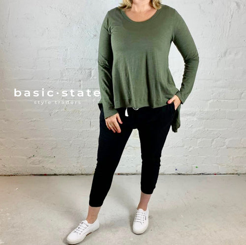Plus Size 3rd story Willow Tee Size 20 Size 22 Basic State Curve Plus Size Ladies Clothing Cotton Basics