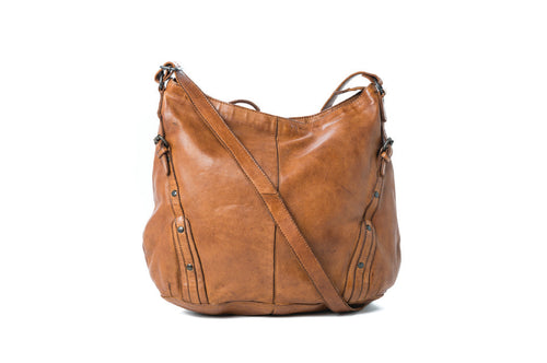 Rugged Hide Tan Leather Bag - Rugged Hide Sicily - Basic State