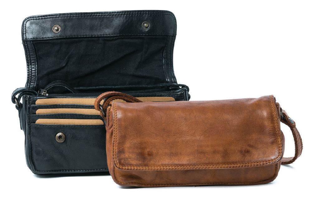 Rugged Hide - 'Georgia' Crossbody/Shoulder - Leather Bag