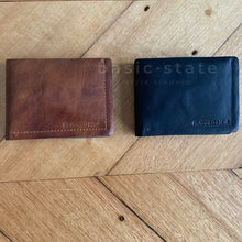Shop Fathers Day Gift Ideas @ Basic State - Tan Leather Wallet - Mens Leather Wallet Tan, Mens Leather Wallet Black, Mens Leather Wallet Rugged Hide - Basic State