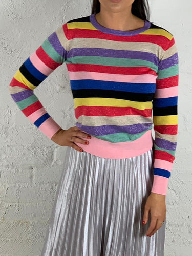 Rainbow Jumper Fitted Rainbow Jumper Jenny Jumper Jenny Rainbow Jumper - Basic State