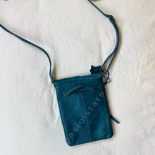 Shop Tayla Leather Bag Midnight Blue Basic State