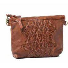 Woven Leather Ladies BagJudy Woven Leather Bag Rugged Hide Australian Stockist
