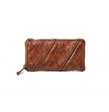 Rugged Hide - 'Kendra' Woven Leather Wallet