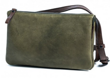 Buy Rugged Hide Bag in Olive Green Rugged Hide Isha Soft Leather Bag Basic State
