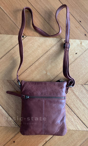 Rugged Hide - 'Zoe' Cross Body Leather Bag