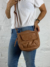 Shop Celia Cross Body Bag Tan Leather Bag Soft Tan Leather Bag