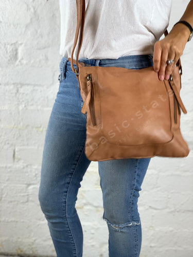 Shop Rugged Hide Kim Leather Bag at Basic State Style Traders