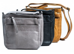 Rugged Hide - 'Pam' Cross Body Leather Bag