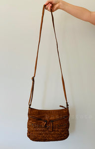 Rugged hide Yarra Cross Body Ladies Bag - Basic State Australia