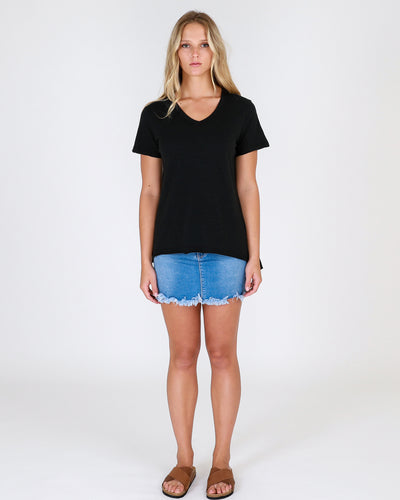 Plus size 3rd Story Clothing Thornton Tee Black - Basic State