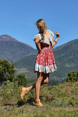 Tulle & Batiste Hosanna Dress Boho Dress Bohemian Dress - Basic State