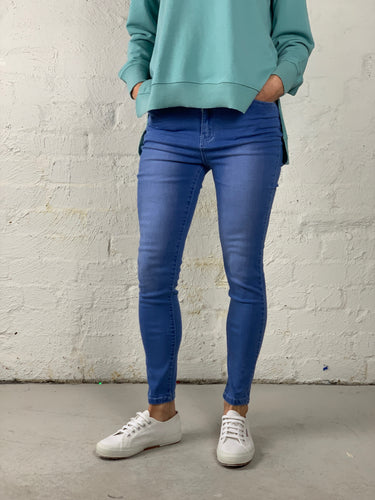 Tyler Jeans Tyler Mum Jeans High Waisted Denim Jeans - Basic State