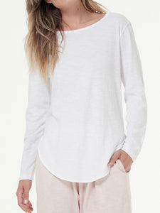Cle Clothing Cle Organic Clothing Australia Cle Organic Layla Long Sleeve Tee - Basic State Cle Clothing Australian Stockist PLUS SIZE CLE ORGANIC CLOTHING PLUS SIZE LAYLA LONG SLEEVE TEE  BASIC STATE CLE ORGANIC CLOTHING STOCKIST