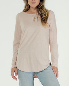 Cle Organic Layla Long Sleeve Tee - Basic State Cle Clothing Australian Stockist Cle Clothing Cle Organic Clothing Australia Cle Organic Layla Long Sleeve Tee - Basic State Cle Clothing Australian Stockist