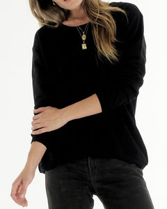 Cle Organic Lucy Sweater Basic State - Cle Organic Clothing Australian Stockist - Basic State