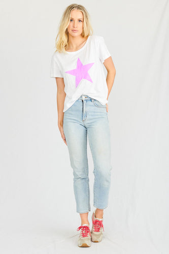 Buy Stardust Crew Tshirt Lilac Star Buy Stardust Crew Starship Tee - Basic state