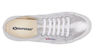 Superga 2750 Silver Lame Superga Classic Tennis Shoe Canvas Sneakers Black Superga2750 Cotu Classic Basic State Style Traders Silver Tennis Shoe Runners jogger trainers