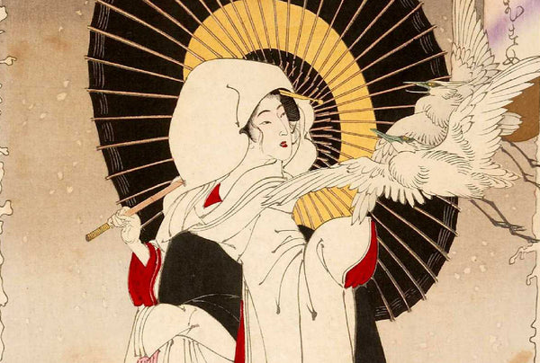 Tsuru no ongaeshi: Stork's return of a favour