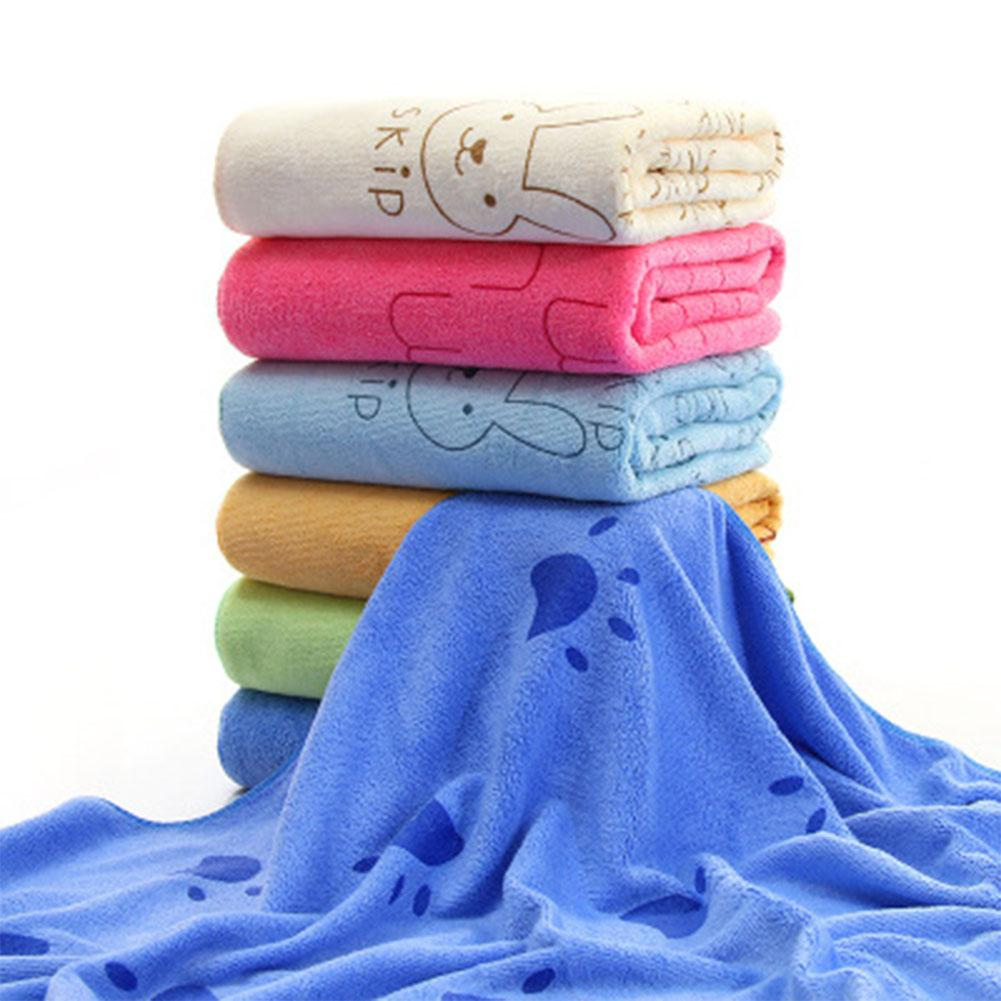 70*140cm Super-sized Microfiber Strong Absorbing Water Bath Pet Towel Dog Towels Golden Retriever Teddy General Hot Sale