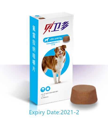 Bravecto Chews for Dogs & Topical Solution for Cats For Flea and Tick, Single 12-Week Dose