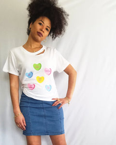 CANDY HEARTS TEE