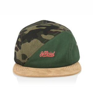 OFFICIAL SKATE CAMP - OLIVE/CAMO