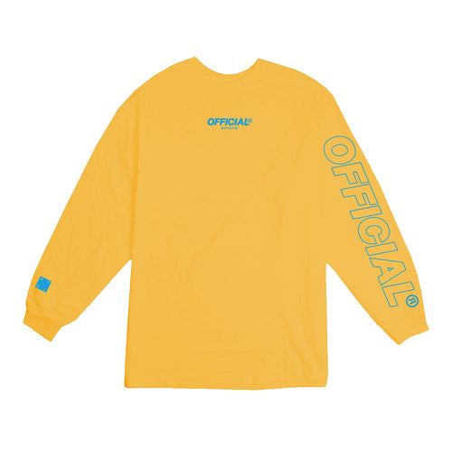 OFFICIAL Neue Logo Longsleeve  - GOLD