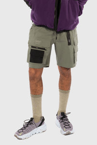 NEXUS RIPSTOP CARGO SHORTS - DUSTY OLIVE