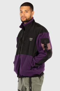 ASCENT TECH FLEECE JACKET - PURPLE