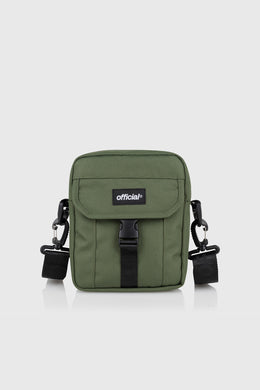 ESSENTIAL SHOULDER BAG - OLIVE