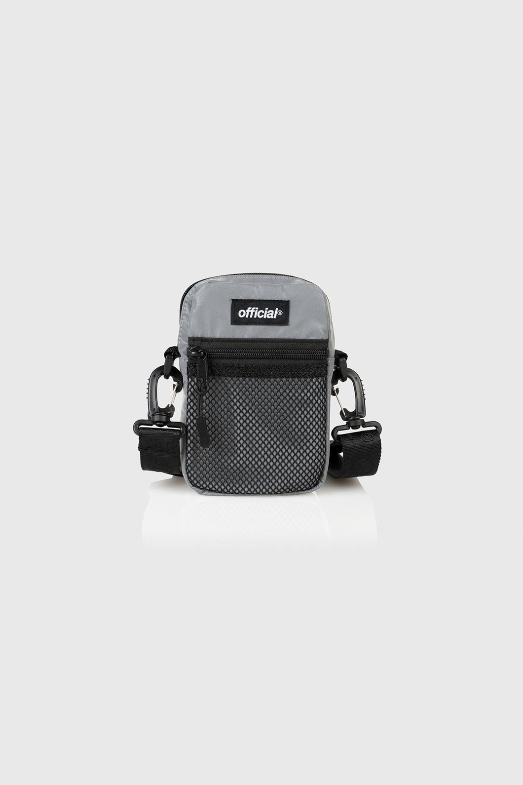 EDC ESSENTIAL SHOULDER BAG - Reflective Silver