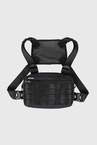 COMPACT ESSENTIAL CHEST BAG - BLACK