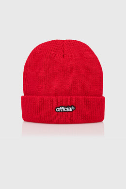 EVERYDAY OFFICIAL BEANIE - RED