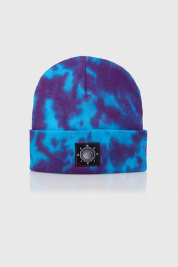 DYED AGAIN BEANIE - PURPLE/BLUE