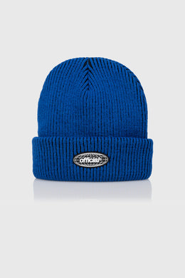 ACID WORLD 2-TONE BEANIE - BLUE