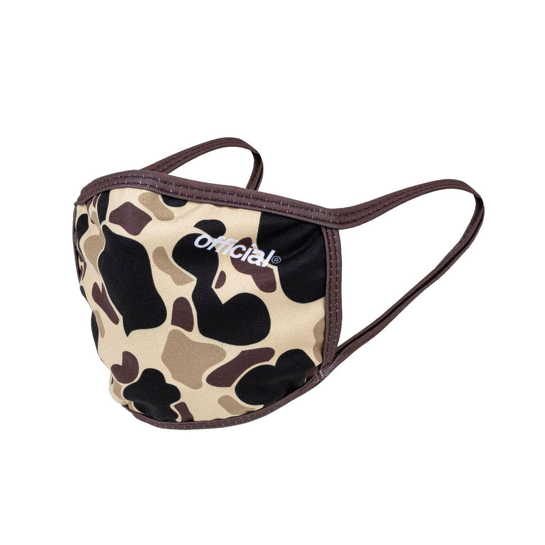 FACE MASK DUCK CAMO BROWN