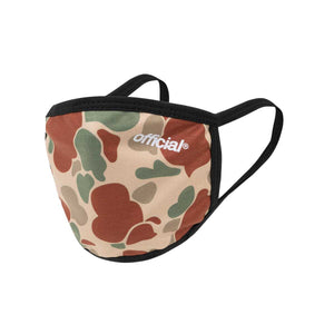 OFFICIAL FACE MASK DUCK CAMO BEIGE