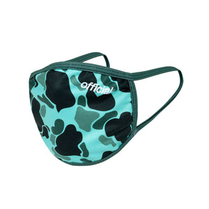 FACE MASK DUCK CAMO GREEN