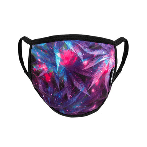 OFFICIAL FACE MASK SPACE WEED PURPLE