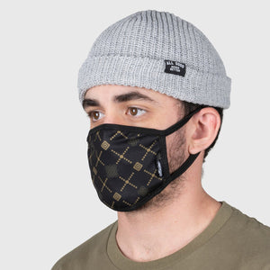 FACE MASK LUXE GOLD(BLK/GOLD)