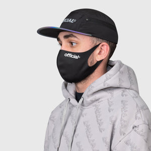 OFFICIAL NANO-POLYURETHANE FACE MASK  (BLACK)