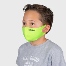 画像をギャラリービューアに読み込む, 【KIDS SIZE】OFFICIAL NANO-POLYURETHANE FACE MASK (VOLT)