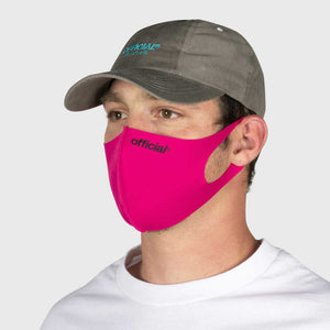 OFFICIAL NANO-POLYURETHANE FACE MASK (PINK) Fサイズ