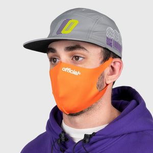OFFICIAL NANO-POLYURETHANE FACE MASK (ORENGE) Fサイズ